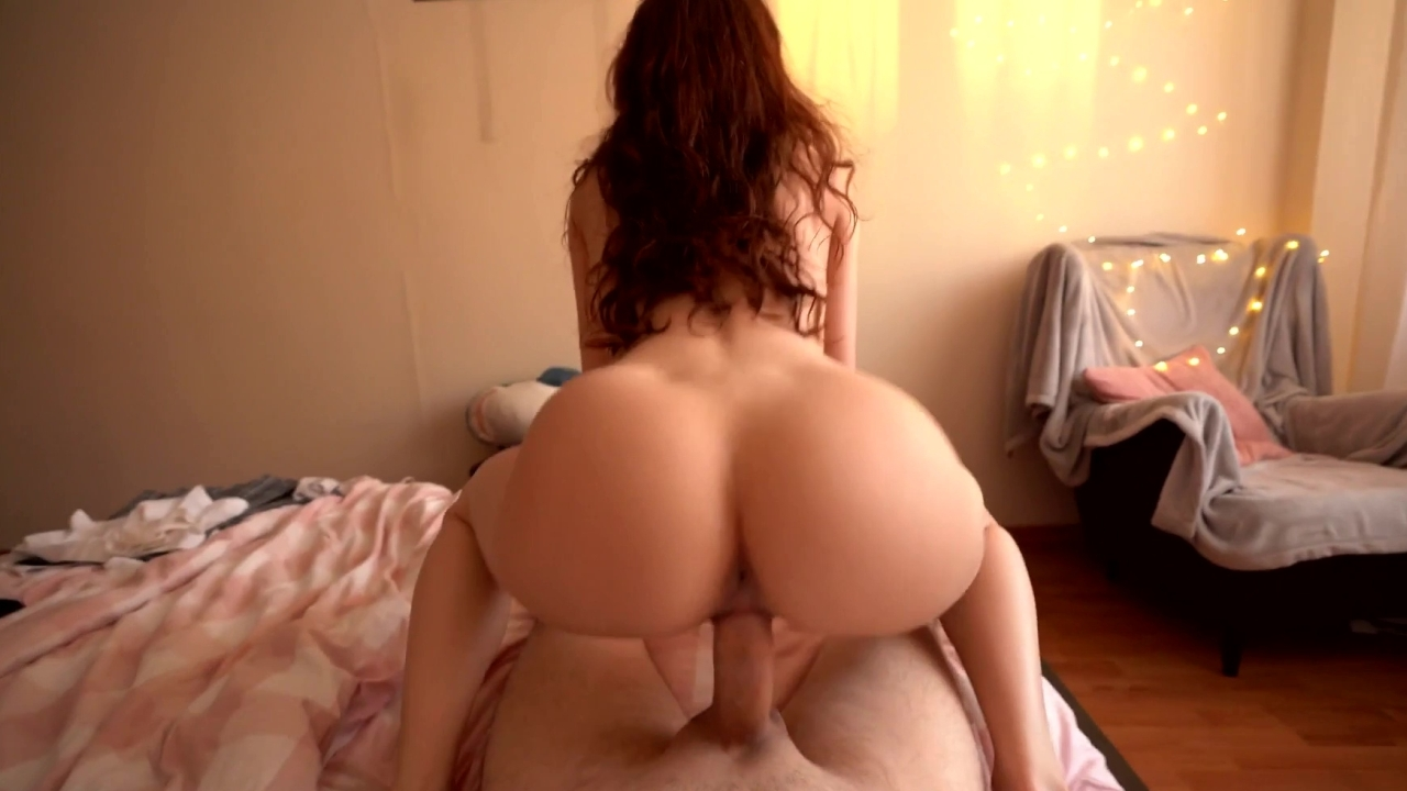 Sofia Simens – Fantastic Redhead Girlfriend Makes Him Cum Twice – POV